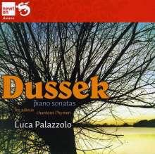 Johann Ludwig Dussek (1760-1812): Klaviersonaten op.61 & op.69 Nr.3 (Nr.24 & 25), CD