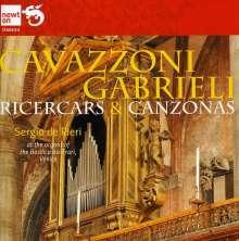 Sergio de Pieri - Cavazzoni/Gabrieli, CD