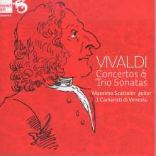 Antonio Vivaldi (1678-1741): Gitarrenkonzerte RV 93 & 425, CD