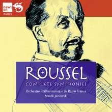 Albert Roussel (1869-1937): Symphonien Nr.1-4, 2 CDs