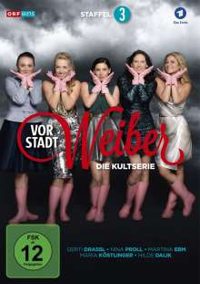 Vorstadtweiber Staffel 3, 3 DVDs