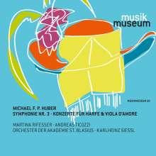 Michael F. P. Huber (geb. 1971): Symphonie Nr.3 op.52, CD