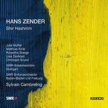 Hans Zender (geb. 1936): Shir Hashirim (Teil 1-4), 2 CDs