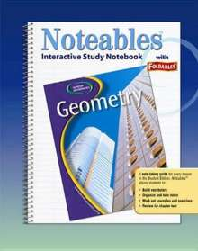 Dinah Zike: Geometry: Concepts and Applications, Noteables: Interactive Study Notebook with Foldables, Buch