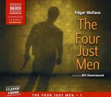 The Four Just Men, 4 Audio-CDs, 4 CDs