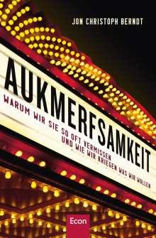 Jon Christoph Berndt: Aukmerfsamkeit, Buch