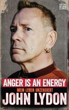 John Lydon: Anger is an Energy, Buch