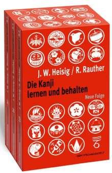 James W Heisig: Die Kanji lernen und behalten Bände 1 bis 3. Neue Folge, Buch