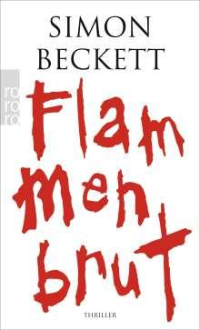 Simon Beckett: Flammenbrut, Buch