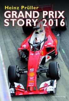Heinz Prüller: Grand Prix Story 2016, Buch