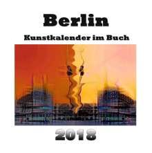 Pierre Sens: Kunstkalender im Buch - Berlin 2018, Buch