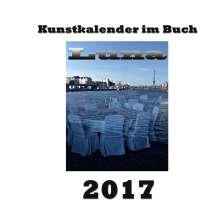 Pierre Sens: Kunstkalender im Buch - Luna 2017, Buch