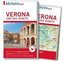 Nicoletta De Rossi: MERIAN live! Reiseführer Verona und das Veneto, Buch