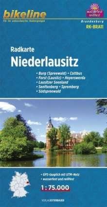 Bikeline Radkarte Deutschland Niederlausitz 1 : 75 000, Diverse