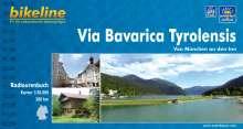 Bikeline Via Bavarica Tyrolensis von München an den Inn 1 : 50 000, Buch