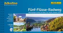 Bikeline Radtourenbuch Fünf-Flüsse-Radweg, Buch