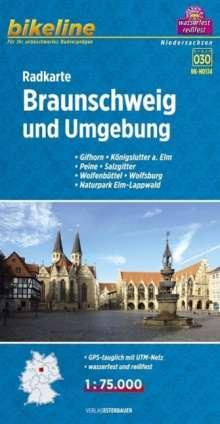 Bikeline Radkarte Braunschweig und Umgebung 1 : 75.000, Diverse