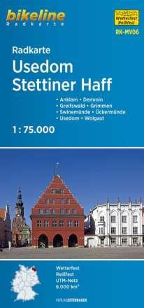 Radkarte Usedom Stettiner Haff 1 : 75 000 (RK-MV06), Diverse