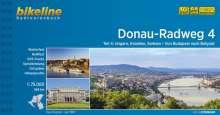 Bikeline Radtourenbuch Donau-Radweg 4. Ungarn, Kroatien, Serbien. Von Budapest nach Belgrad, Buch