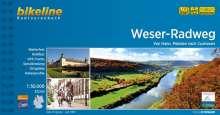 Bikeline Radtourenbuch Weser-Radweg, Diverse