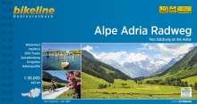 Bikeline Radtourenbuch Alpe Adria Radweg, Buch