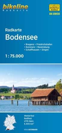 Bikeline Radkarte Bodensee 1 : 75 000, Diverse