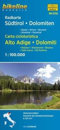 Radkarte Südtirol Dolomiten, Diverse