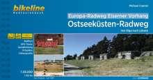 Europa-Radweg Eiserner Vorhang Ostseeküste 1 : 85 000, Buch