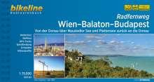Bikeline Radtourenbuch Wien-Balaton-Budapest, Buch