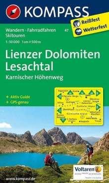 Lienzer Dolomiten - Lesachtal - Karnischer Höhenweg 1 : 50 000, Diverse