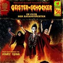 Geister-Schocker (56) Im Club der Satanstöchter - Romantruhe Audio 2015