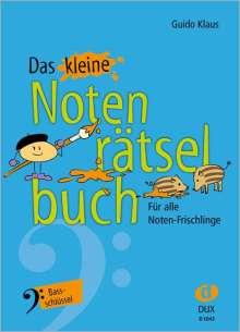 Guido Klaus: Das kleine Notenrätselbuch, Buch