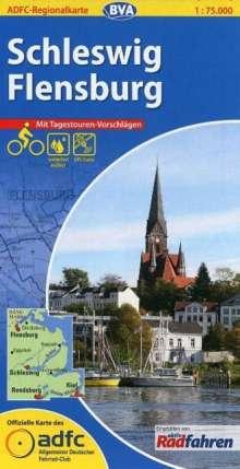 ADFC-Regionalkarte Schleswig / Flensburg 1 : 75 000, Diverse
