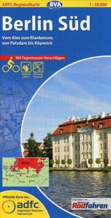 ADFC-Regionalkarte Berlin Süd 1 : 50 000, Diverse