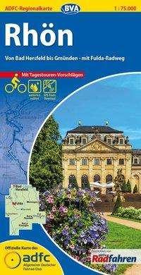 ADFC-Regionalkarte Rhön 1 : 75 000 mit Tagestouren-Vorschlägen, Diverse