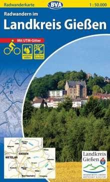 Radwandern im Landkreis Gießen 1 : 50.000, Diverse