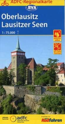 ADFC-Regionalkarte Oberlausitz - Lausitzer Seen 1:75.000, Diverse