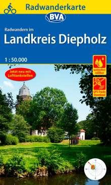 Radwanderkarte BVA Radwandern im Landkreis Diepholz 1:50.000, Diverse