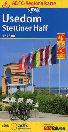 ADFC-Regionalkarte Usedom Stettiner Haff, 1:75.000, Diverse