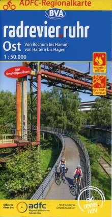 ADFC-Regionalkarte radrevier.ruhr Ost, 1:50.000, reiß- und wetterfest, GPS-Tracks Download, Diverse