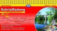 Kompakt-Spiralo BVA RuhrtalRadweg Von der Quelle bis zur Mündung Radwanderkarte 1:50.000, Diverse