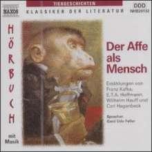 Gerd Udo Feller:Der Affe als Mensch, 2 CDs