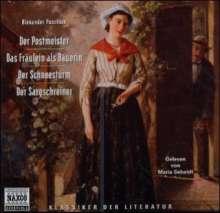 Puschkin,Alexander:Erzählungen, 2 CDs