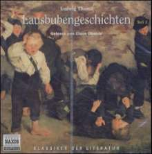 Lausbubengeschichten, 1 Audio-CD, CD