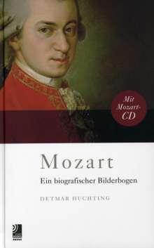 Wolfgang Amadeus Mozart (1756-1791): Wolfgang Amadeus Mozart - Ein biografischer Bilderbogen (CD + Buch), CD