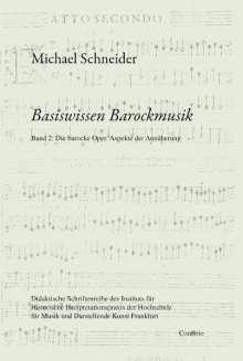 Michael Schneider: Basiswissen Barockmusik, Buch
