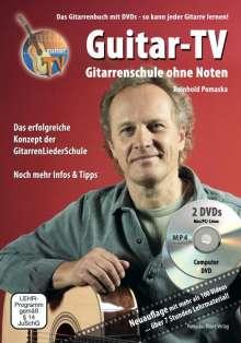 Reinhold Pomaska: Guitar-TV: Gitarrenschule ohne Noten, Buch
