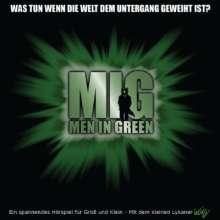 Kim Witzenleiter: Wolfy Men in Green, 1 Audio-CD, CD
