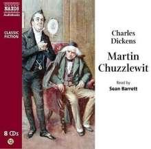 Sean Barrett: Charles Dickens: Martin Chuzzlewit, 8 CDs