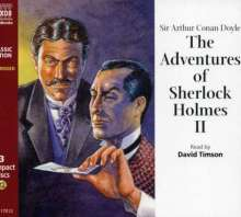 The Adventures of Sherlock Holmes II, 3 CDs